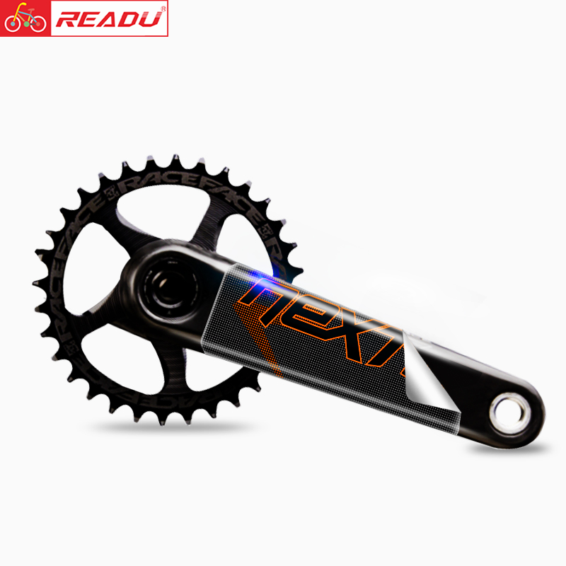 Raceface Volgende R Mountainbike Crank Sticker Mtb Dh Am Crank Decals