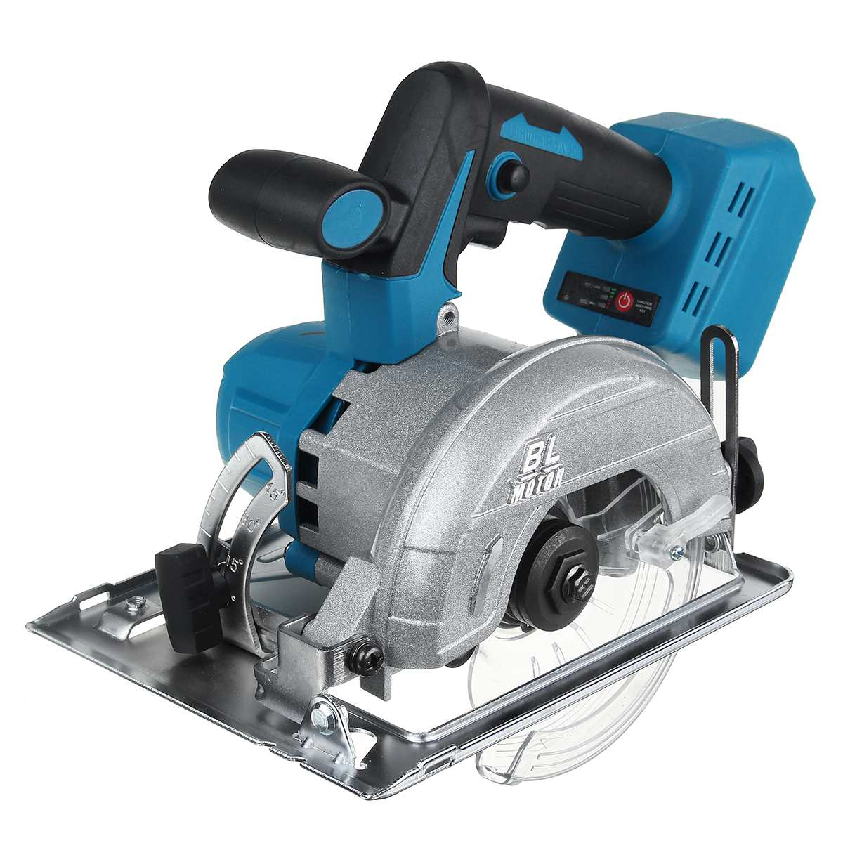 10800RPM 125mm Cordless Electric Wood Circular Saw Power Tools Dust Passage Multifunction Cutting Machine For 18V Makita Battery