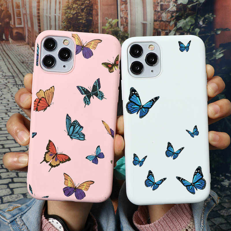 coque iphone 12 butterfly
