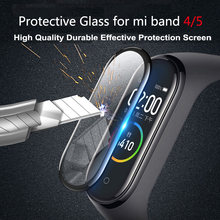 3d Защитное стекло для xiaomi mi band 5 4 стеклянная пленка
