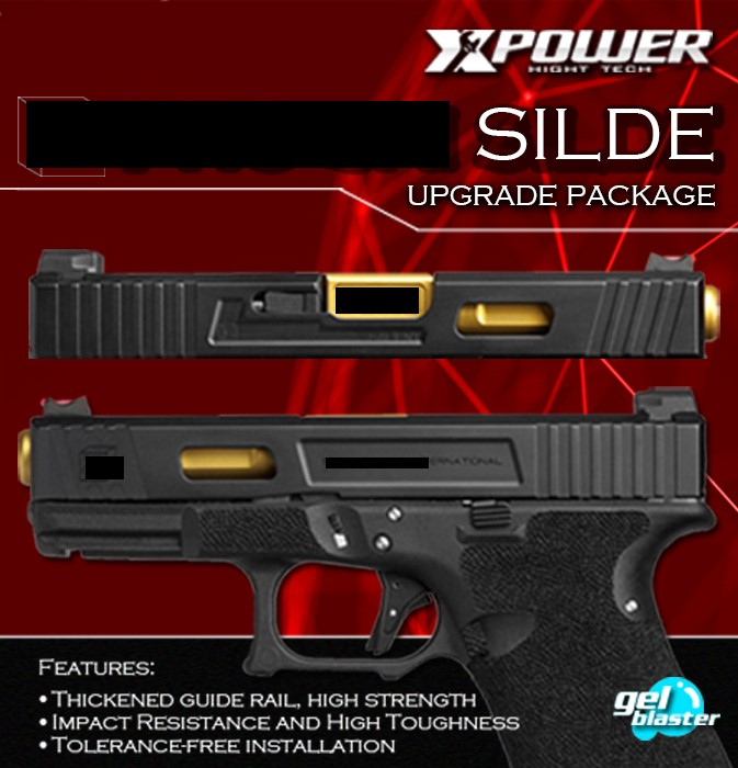 TM Systerm GLOCK 17/34 Nylon Silde Upgrade Package Super Strength Lightweight  Kublai