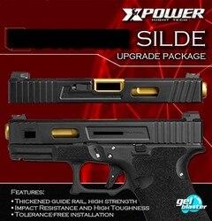 TM systerm GLOCK 17/34 nylon silde upgrade pakket super sterkte lichtgewicht Kublai