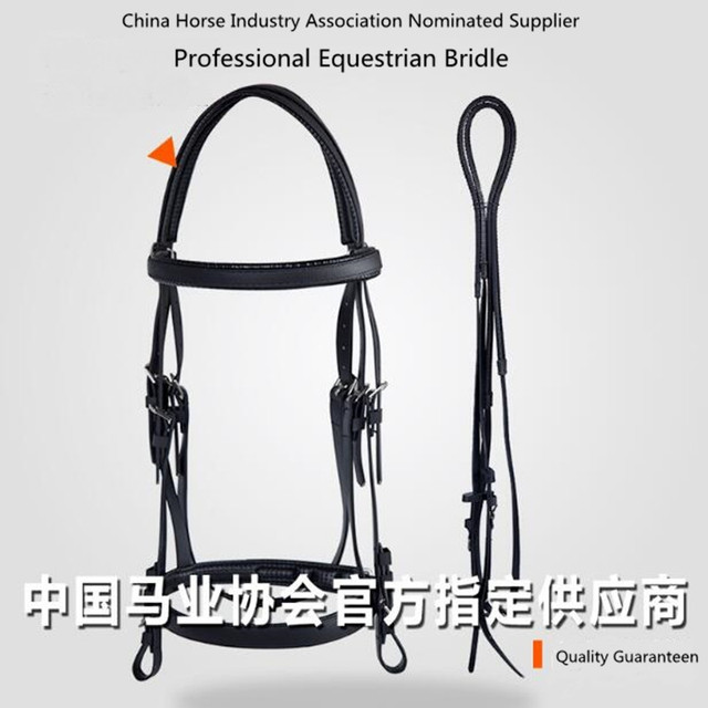 Cavassion Equestrian Professional PVC Bridle Soft Comfortable Easy-Cleaning 1