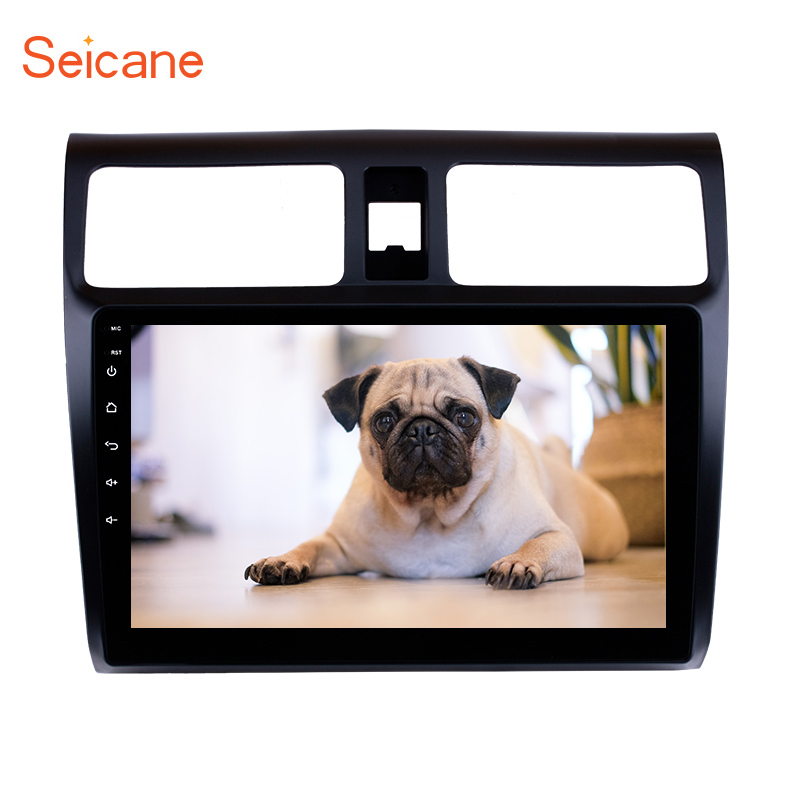 Seicane 2din <font><b>Android</b></font> 9.0 9 inch Car GPS Navigation Radio for <font><b>Suzuki</b></font> <font><b>Swift</b></font> 2005 2006 2007 <font><b>2008</b></font> 2009 2010 Multimedia Player image