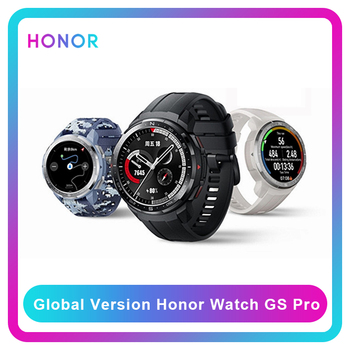 Honor Watch GS Pro Global Version Smart Watch 1.39'' AMOLED Screen Heart Rate Monitoring Blood Oxygen