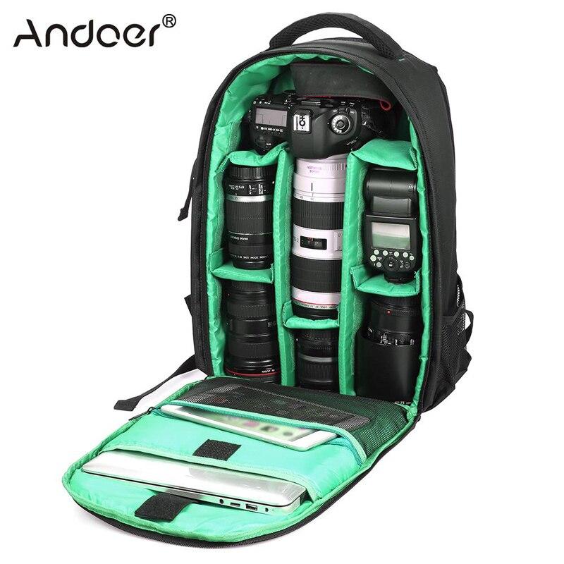 Outdoor Wear-resisting Water-resistant DSLR Digital Camera Bag Backpack Multi-functional Breathable Photography Camera Bags