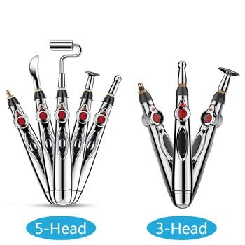Stylo d'acupuncture électronique multifonctionnel