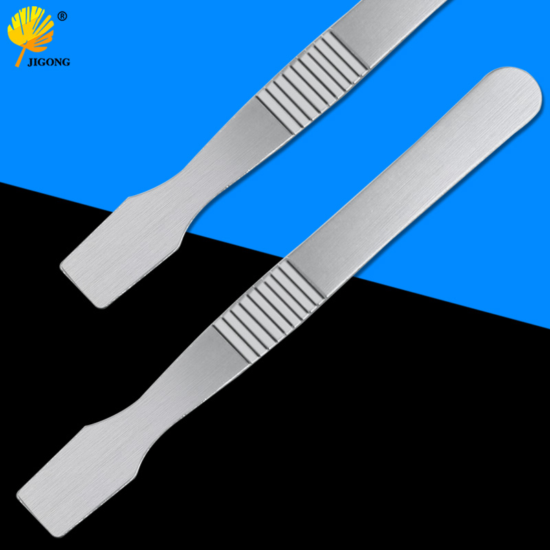 Stainless Steel Blade Knife Tin Solder Paste Stir Knife Crowbar To Open Shell Split Shell Tool Disassemble Tool