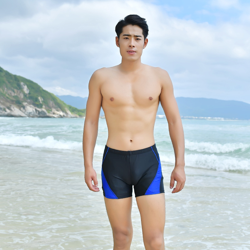 2019 Anti-Awkward Sexy Men Summer AussieBum Quick-Dry Large Size Elasticity Hot Springs Bathing Suit