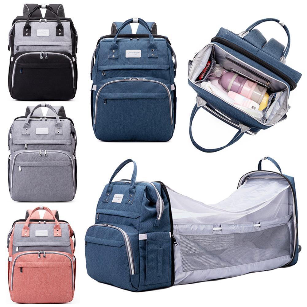Многофункциональный Портативный большой мама пеленки мешок Складная детская коляска для путешествий большой рюкзак Детская пеленка для к...