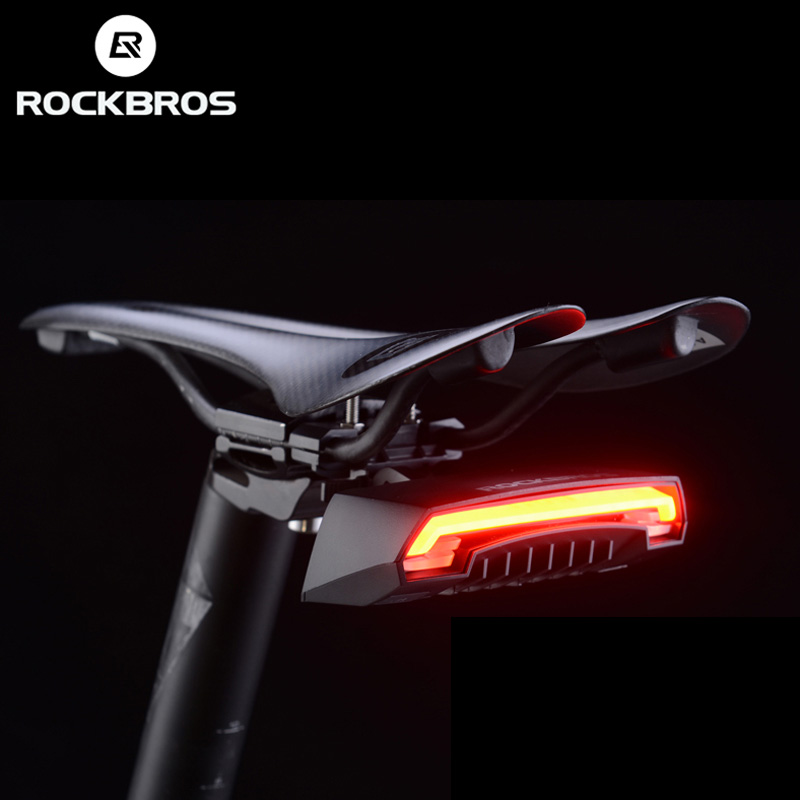 Wireless bicycle lamp USB rechargeable waterproof bicycle front tail lamp