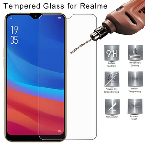 9H HD Toughed Tempered Glass for Realme XT X Q C1 C2 Protective Glass for Realme X2 Pro U1 Screen Protector OPPO Phone Glass(China)