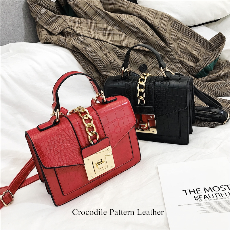 Crossbody Bags For Women 2019 Brand Small Handbags High Quality Leather Shoulder Messenger Bag Fashion Ladies Flap Hand Bags Red