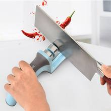 Knife Sharpener Tool Stages Quick Professional Kitchen Sharpening Knives Stone Ceramic Tungsten Steel Knife Grinder(China)