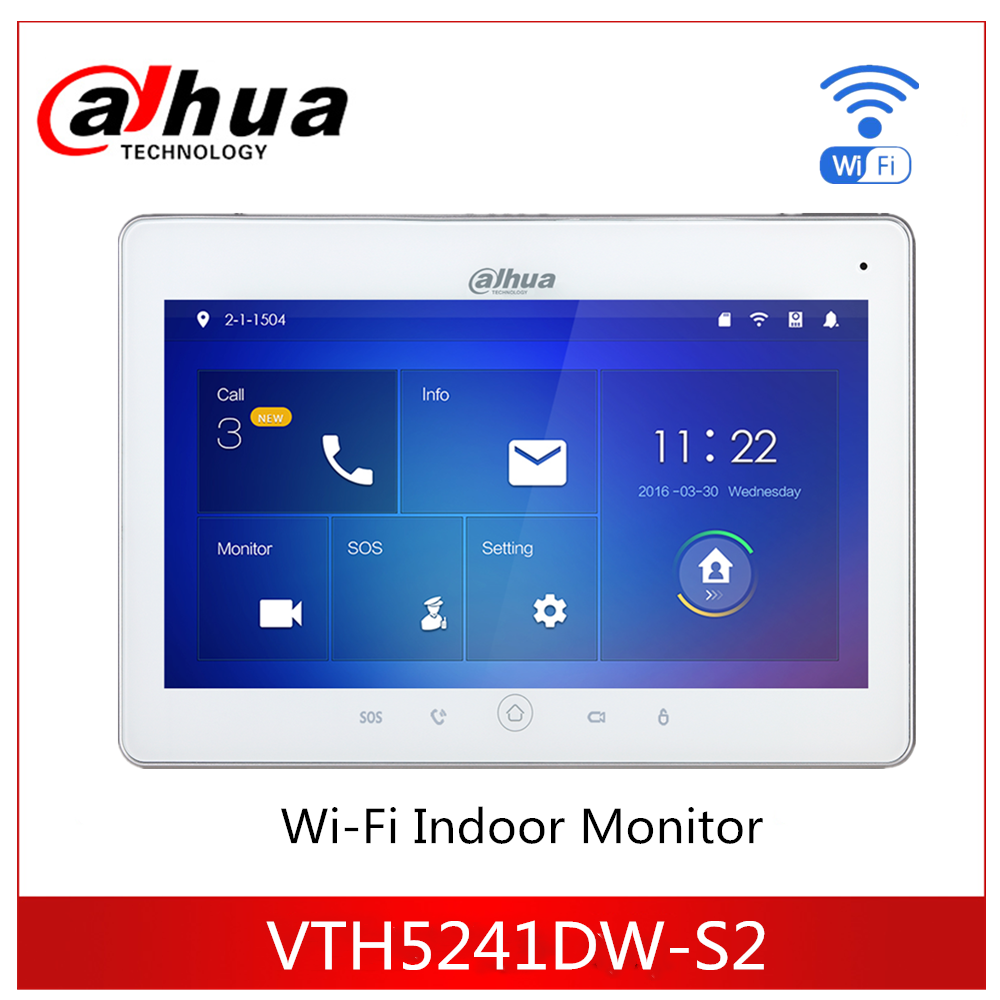 Dahua Video Intercoms VTH5241DW WiFi Indoor Monitor 10