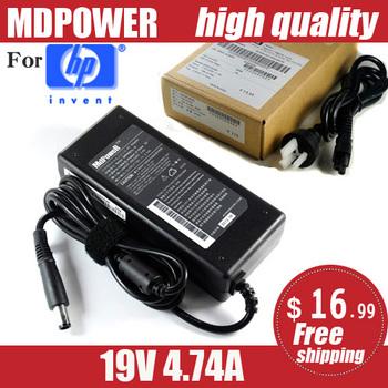 MDPOWER do laptopa HP 19V 4 74A 90W ładowarka sieciowa do laptopa tanie i dobre opinie MLLSE 19 v Dla hp 19V-4 74A Direct charge Non-original