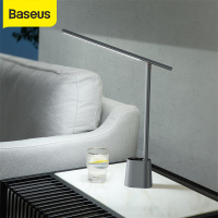 Baseus LED Desk Lamp Eye Protect Study Dimmable Office Light Foldable Table Lamp Smart Adaptive Brightness Bedside Lamp For Read