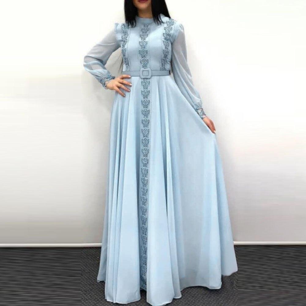 Dressv impressão longo vestido de baile halter