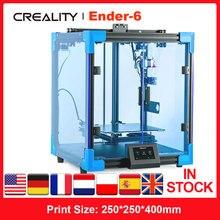 Creality 3D Ender-6 3D Drucker DIY Kit TMC2208 Fahrer 3 Mal Schneller Druck Geschwindigkeit 250*250*400mm stabile Core-XY Struktur