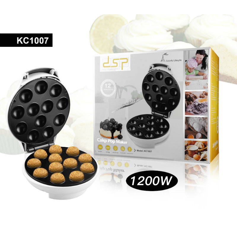 Household 1200w Pancake Maker Small Cake Machine Jam Cake Machine DSP  Cake Makers Machine Cake Mini Pancakes Machine