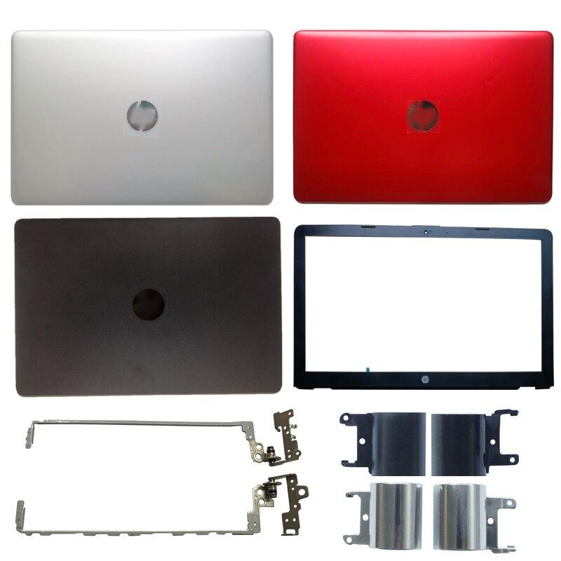 NUEVA cubierta trasera LCD para portátil/bisel frontal LCD/bisagras para HP 15-BS 15T-BS 15-BW 15Q-BU 924899-001 ap204000101dvt 7J1790