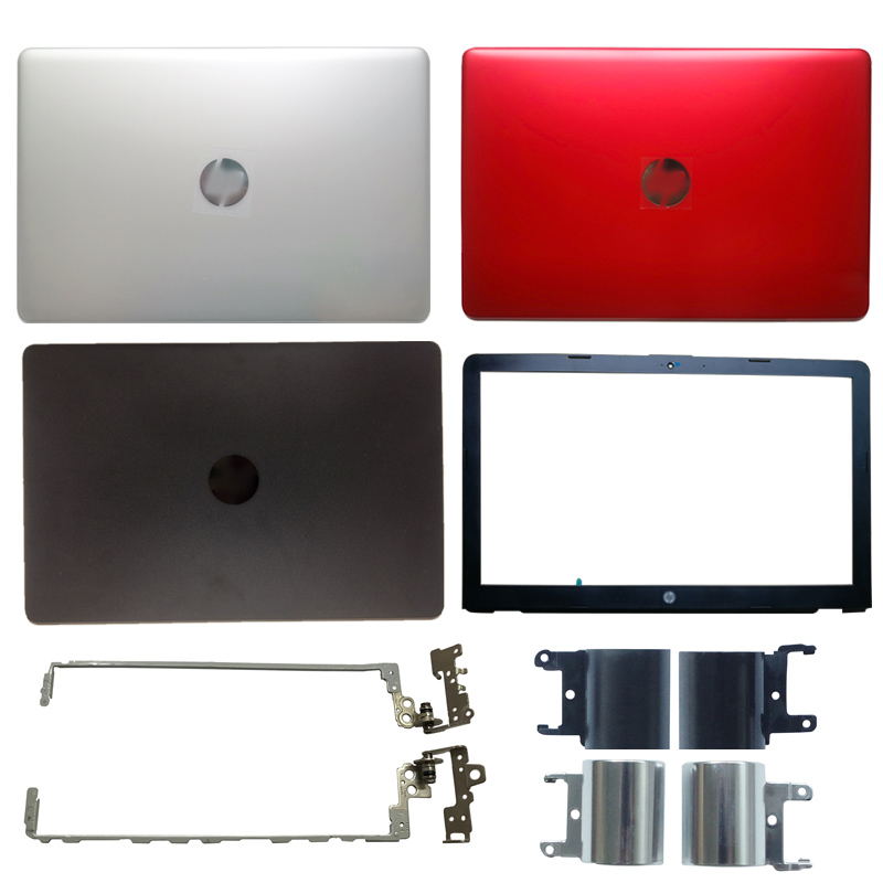 New Laptop LCD Back Cover/LCD Front Bezel/Hinges/Hinges Cover For HP 15-BS 15T-BS 15-BW 15Q-BU 924899-001 AP204000101SVT 7J1790