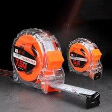 Drop-resistant and wear-resistant transparent 3-10m steel tape measure metal tape measure waterproof tape measure meter