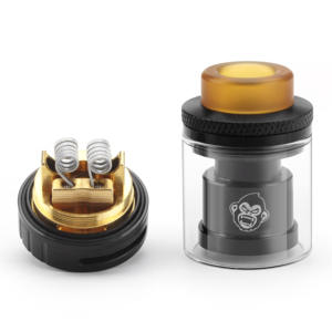 RTA Atomizer Cigarette-Box-Mod Hookah Dual-Coil Electronic 24mm-3ml Top SS for Vape