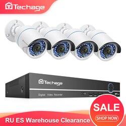 H.265 8CH 1080P POE NVR ערכת טלוויזיה במעגל סגור מערכת 2MP IP מצלמה IR ראיית לילה P2P Onvif וידאו אבטחת מעקב סט RU ES מחסן