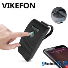 Bluetooth Audio Receiver Car Bluetooth อะแดปเตอร์แฮนด์ฟรีรถชุดลำโพง Bluetooth ไร้สายลำโพง Sun Visor สปีกเกอร์โฟน