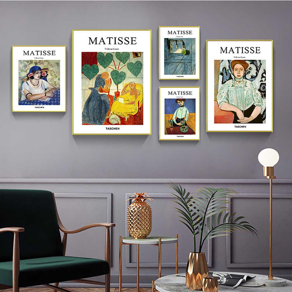 Poster Wall Art Modulaire Foto Nordic Stijl Abstract Henri Matisse Fashion Design Canvas Schilderij Voor Slaapkamer Home Decor Prints