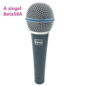 Image 2 - Super Nieren Mikrofon Dynamische Gesangs Wired Mikrofon Professionelle Beta58A Beta 58A 58 EINE Mic Für Karaoke Microfono Microfone