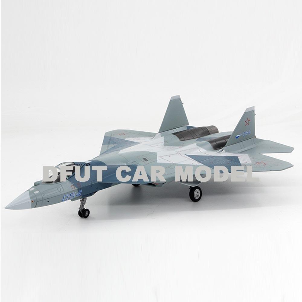 1:72 Alloy SU-57 fighter Sedan Model Of Children's Toy Cars Original Authorized Authentic Kids Toys