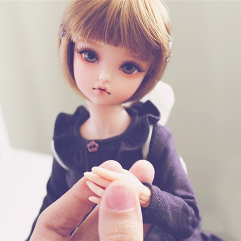 New Arrival 1/6 BJD Doll BJD/SD Fashion  With Fleckles LOVELY Doll For Baby Girl Birthday Gift