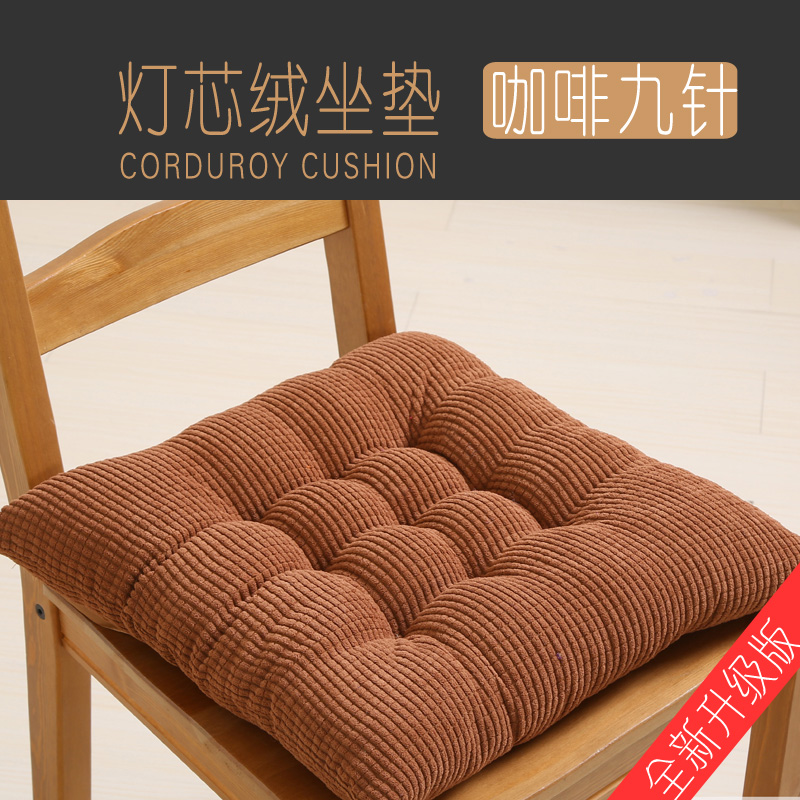 Thick Chair Garden Pillow Cushion Sofa Square Memory Foam Chair Cushion Office Soft Outdoor Kussenvulling Home Textile AB50ZD