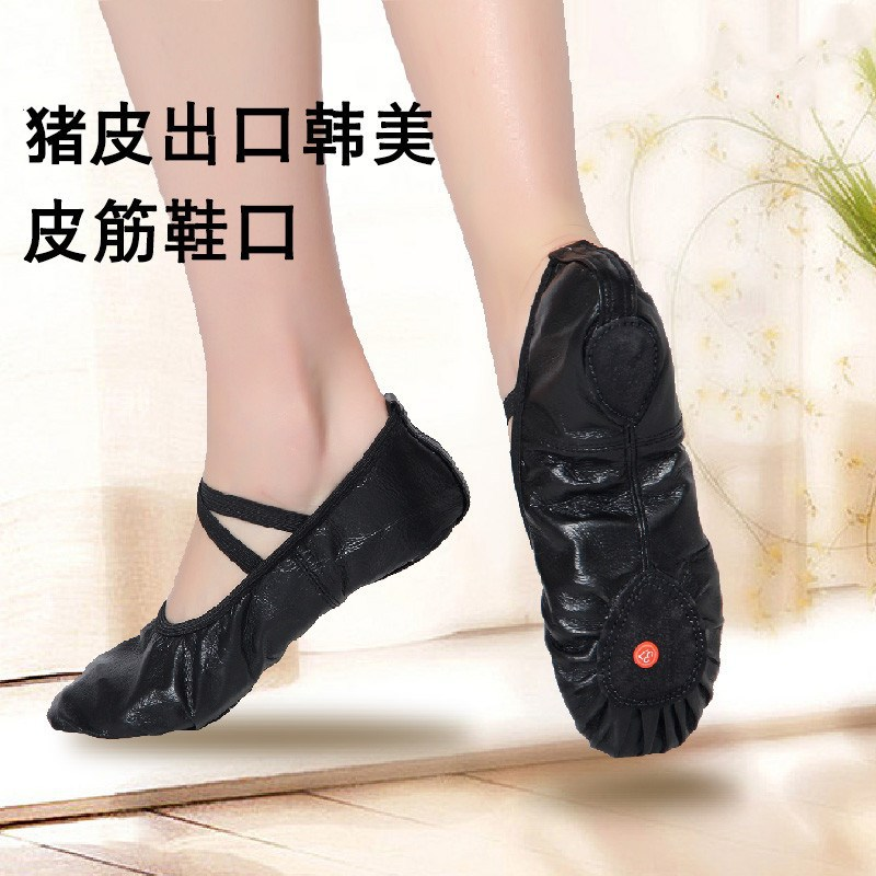 New Style Genuine Leather Dance Shoes Adult Soft-Sole Shoes CHILDREN'S Dance Shoes Soft Bottom Ballet Shoes