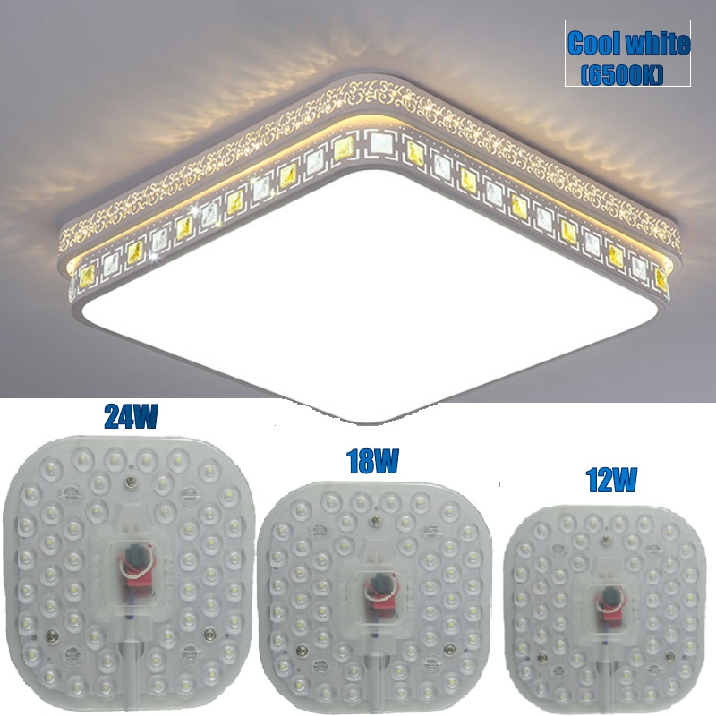 Led Module Light 220v AC 170v-265V Replacement Lamp For Ceiling/Downlight Source Energy Saving