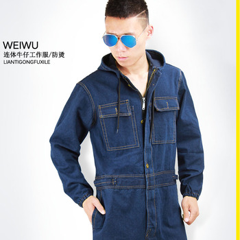Men's cotton welder repair work clothes factory painting dustproof labor protection suit factory labor work clothing jacket and pants suit house work apparel free shipping