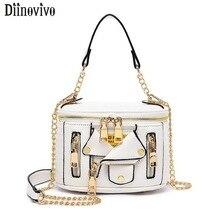 DIINOVIVO Luxury Handbags Women Bags Designer Cool Jacket Shape Motobike Style Shoulder Bag Crossbody For Girls WHDV1215