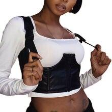 A Women Brace Support Belt Vest Back Chest Posture Corrector Adjustable Shoulder Cummerbunds