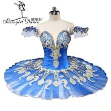 latest blue swan lake ballet tutu platter sugar plum fairy professional pancake bird BT9134C