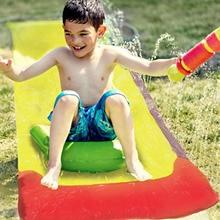 Water-Slides-Pools Lawn Children Toys Games Backyard Outdoor Kids Summer New Fun Ce