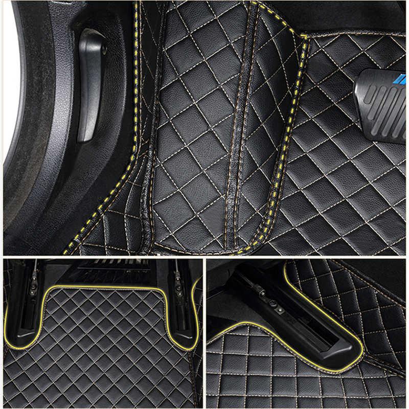 カスタム車のフロアマット BMW e36 e39 e46 e60 e90 f10 F15 F16 f30 x1 x3 x4 x5 x6 1/2/3/4/5/6/7 車アクセサリースタイリング足マット