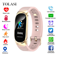 Women Smart Watch Sport Pedometer Smartwatch Blood Pressure Oxygen Heart Rate Monitor Fitness Tracker Call Alarm Reminder Reloj все цены
