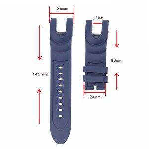 Image 2 - 時計アクセサリー INVICTA ファンタ腕時計 AnatomicSubaqua シリーズフォーク 26 ミリメートルの男性と女性のスポーツソフトシリコーンストラップ