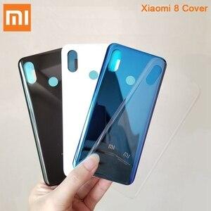 Image 5 - Xiaomi Mi המקורי זכוכית סוללה אחורי מקרה עבור Xiaomi 8 MI8 MI 8 פרו M8 8SE Mi8 פרו טלפון סוללה חזרה כיסוי Backshell + כלי