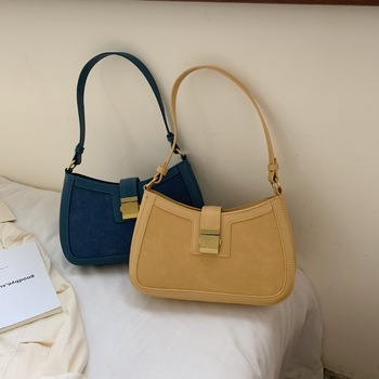 Locimole Commuter Small Women Shoulder Bag Fashion Ladies Handbag Brand PU Leather Crossbody Bags Designer Solid BIA308 PM49