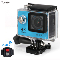 Wifi 4k action camera sport professional underwater waterproof camera video camera 4k full hd 1080P for outdoor cycling diving