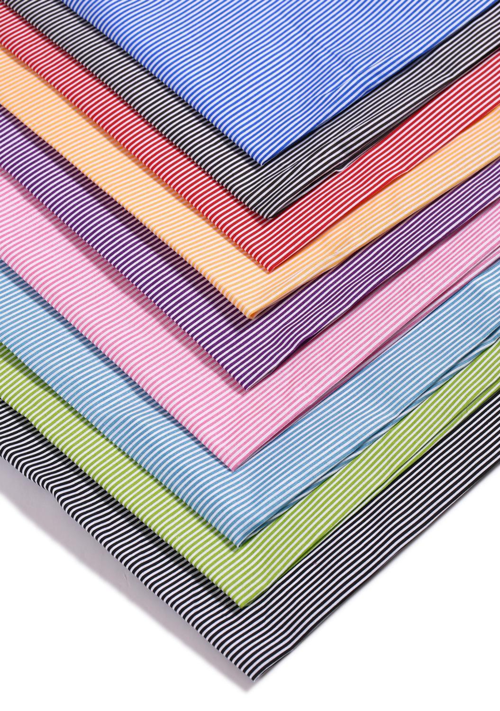 100x150cm Fine Stripe Printing Polyester Fabric Curtain Print Bag And Garment Fabric Tablecloth DIY Handmade Cloth Art