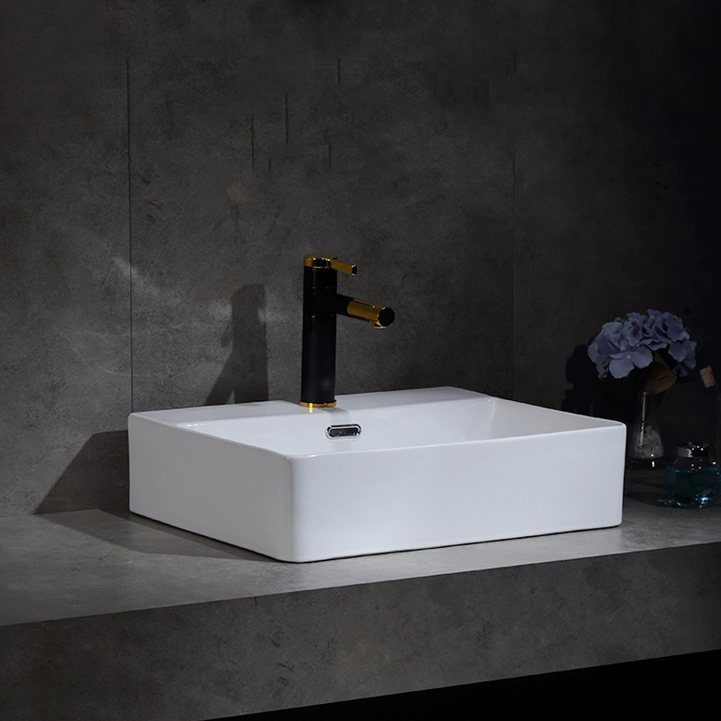 Bathroom Toilets Sink White Ceramic